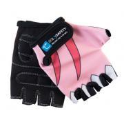 """Перчатки детские защитные """"S"""" (без пальцев) - Crazy Safety - Pink Shark"""