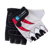 "Перчатки детские защитные (без пальцев) - Crazy Safety - White Shark (белая акула) - ""S"" - 7см"
