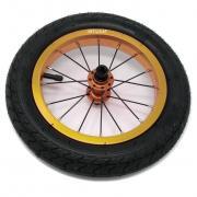 """Колеса 2 штуки для Беговела Cruzee 12"""" (воздушные)  JETCAT Wheels Pro V1 Золотые"""