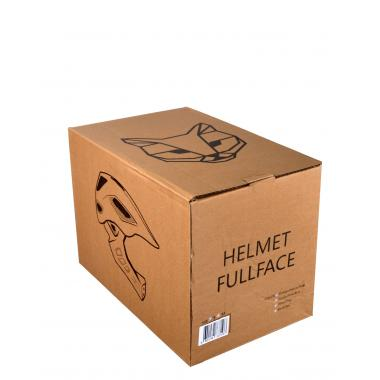Шлем FullFace - Raptor SE (Blue / White) -  JetCat
