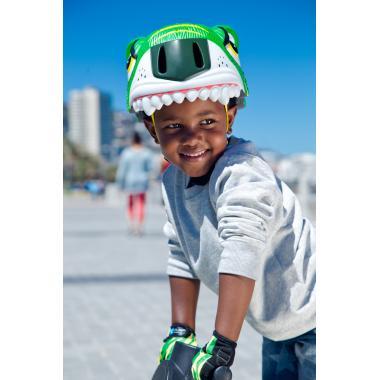 Шлем Green Cameleon 2018 (Зелёный Хамелеон) New Crazy Safety