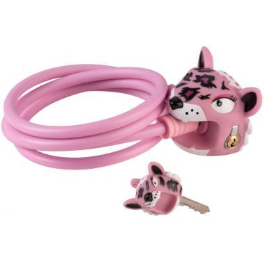 Замок Pink Leopard (розовый леопард) Crazy Safety