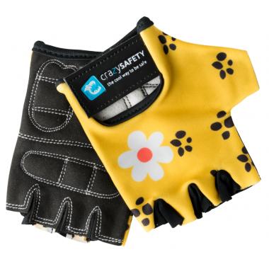 Перчатки Leopard (жёлтый леопард) Crazy Safety