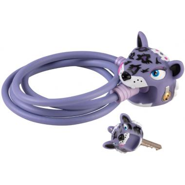 Замок Purple Leopard (сиреневый леопард) Crazy Safety
