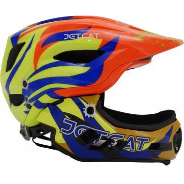 Шлем FullFace - Raptor SE (orange/yellow/blue) -  JetCat
